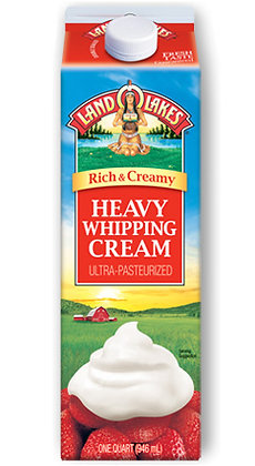 Heavy Whipping Cream Land O'Lakes