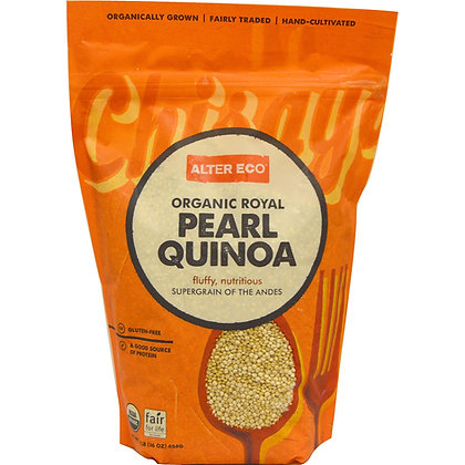 Alter Eco Organic Royal Pearl Quinoa 16oz