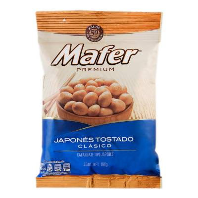 Mafer premium Japanese roasted peanuts 180 g