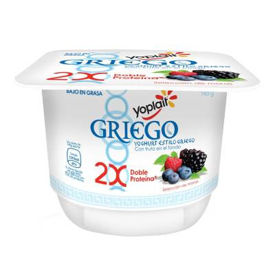 Yoplait Greek Yogurt Berries 145 gr (4 pack)