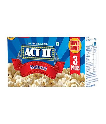 Act II Natural Microwave Popcorn