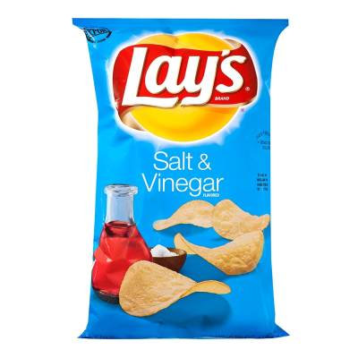 Papas Lays salt and vinegar 184.2 g
