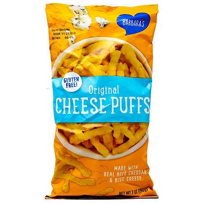 Barbaras Puffs Cheese Original Gluten Free 7oz