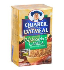 Quaker Instant Oatmeal Apple & Cinnamon 280 g