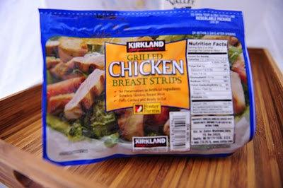 Kirkland Precooked Chicken Strips 2lb/ 2 pack
