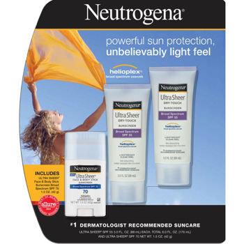 Neutrogena Ultra Sheer Sunscreen SPF 55