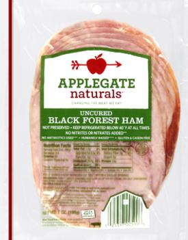 Applegate Natural Black Forest Ham 7oz