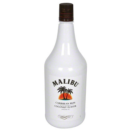 Malibu Caribbean Rum with Coconut (750 ml)