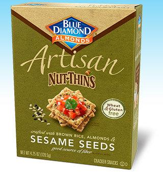 Blue Diamond Artisan Nut-Thins, Sesame