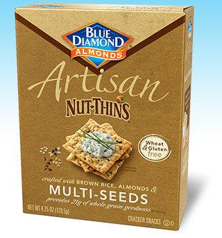 Blue Diamond Artisan Nut-Thins, Multi Seed