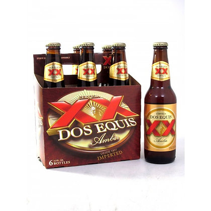 Dos X- Amber 6 pack