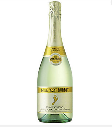 Barefoot Bubbly Pinot Grigio Sparkling Wine 750 m