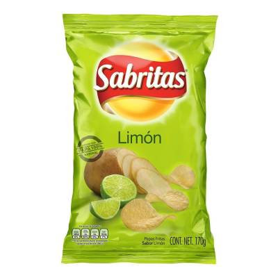Sabritas lemon 170 g