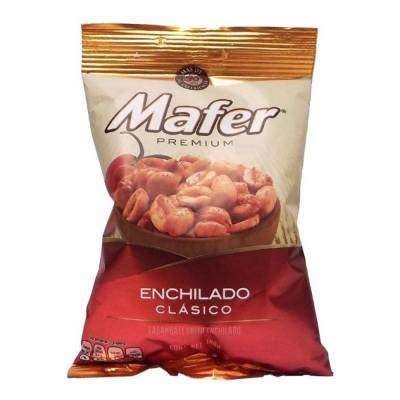 Mafer premium classic spicy peanuts 180g