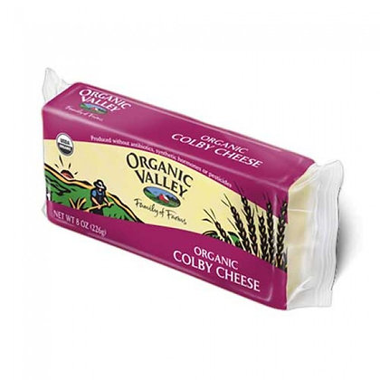 Organic Valley Cheese Colby 8 Oz
