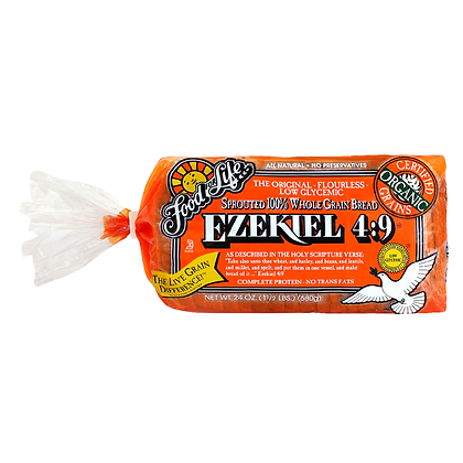 Food For Life Ezekiel Bread 4:9 Sprouted Grain