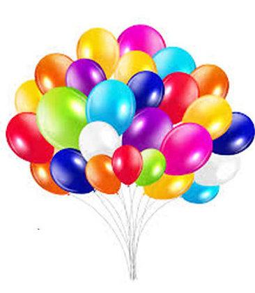75 Latex Balloon Bouquet