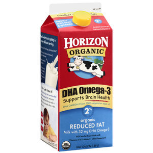 Horizon Organic Reduced Fat Milk 2% 64oz