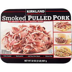 Kirkland Smoked Pulled Pork 2 lbs