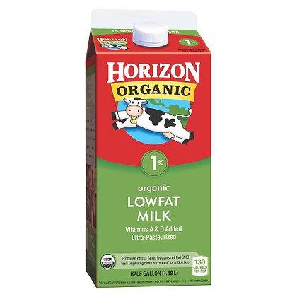 Horizon Organic 1% Low Fat Milk 64oz