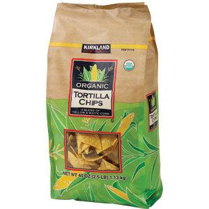 Kirkland Organic Tortilla Chips 1.13 kg