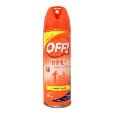 Off insect repellent spray family 170 g