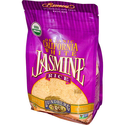 Lundberg Jasmine Brown Organic Rice 2 lb