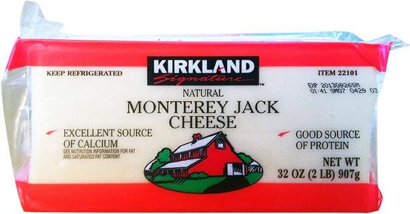 Kirkland Monterrey Jack Cheese 2 lb block