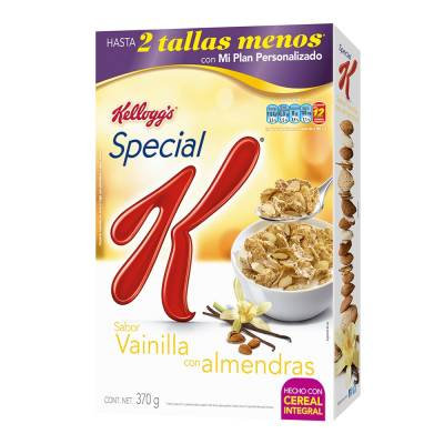 Kelloggs Special K vainilla with almonds 370 g