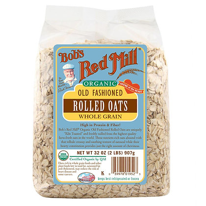Red Mill Rolled Oats Organic 32 Oz