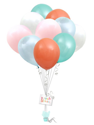 25 Latex Balloon Bouquet