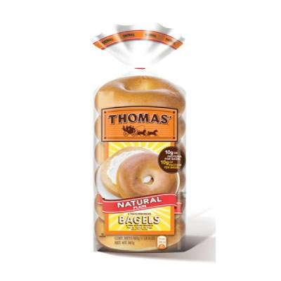 Bagels Thomas natural 6 pack