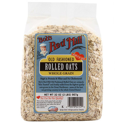Red Mill Rolled Oats Regular 32 Oz