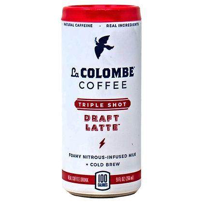 La Colombe Coffee Triple Shot Draft Latte 9 oz