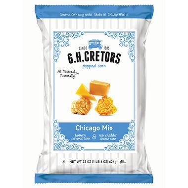 G.H. Cretors Caramel Corn/ Cheese Corn 1lb 10 oz