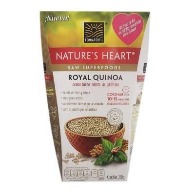 Quinoa Terrafertil Natures Heart 250 g
