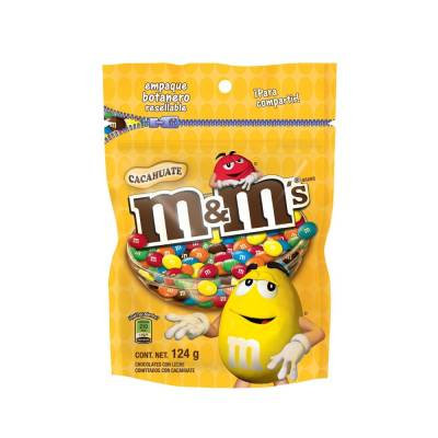 M&M'S Peanut Chocolate Candy 124gr