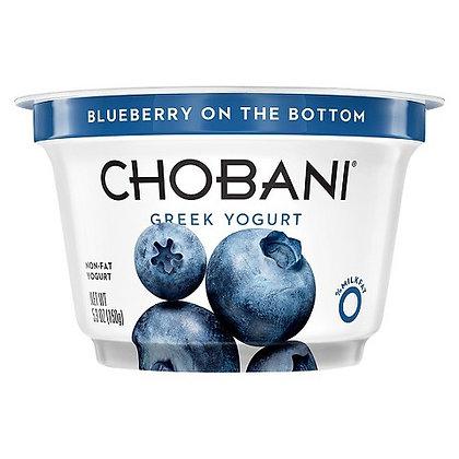 Chobani Blueberry Non Fat Greek 5.3 oz