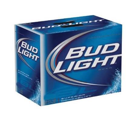 Bud Lite 6 pack 355 ml/12oz