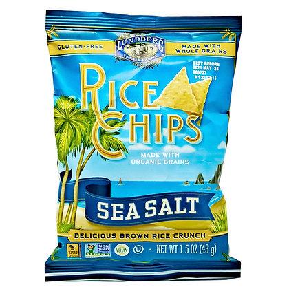 Lundberg Chips Rice Sea Salt Gluten Free 1.5 oz