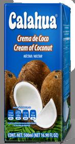 Calahua Coconut Cream 2L
