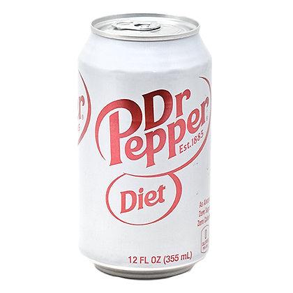 Dr Pepper Soda Diet 12 oz