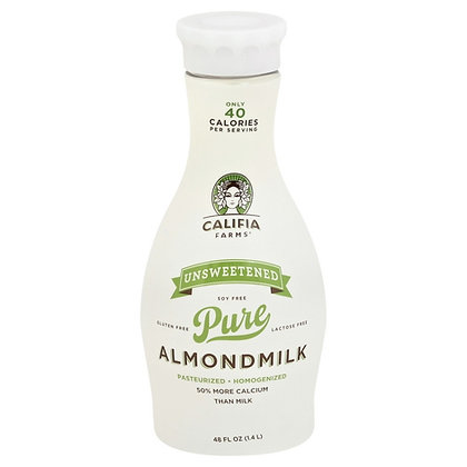 Califia Unsweetened Almond Milk 48 oz