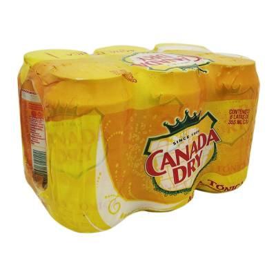 Tonic Water Canada Dry 6 pack 355 ml c/u