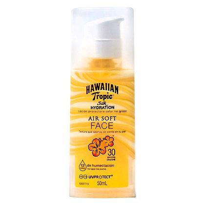 Hawaiian Tropic FPS 30 Air Soft Face 50 ml