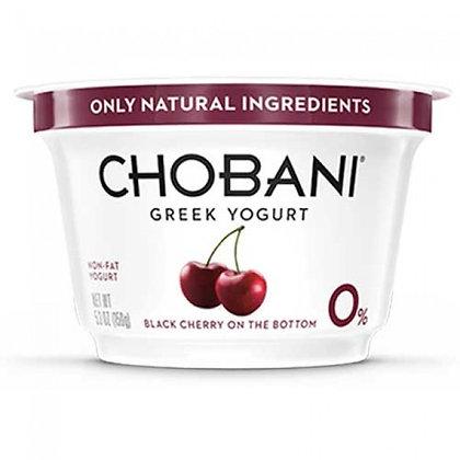 Chobani Black Cherry Non Fat Greek 5.3 oz