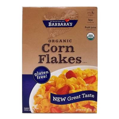 Cereal Barbaras Corn Flakes organic 283 g