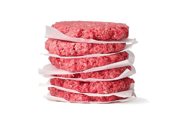 Ground Beef Patties Fresh 8