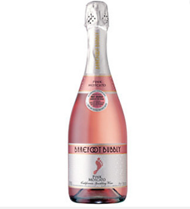 Barefoot Bubbly Pink Moscato Sparkling Wine 750 m