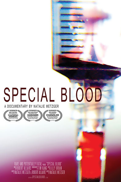 Special Blood by Natalie Metzger, a documentary about Hereditary Angioedema (HAE)